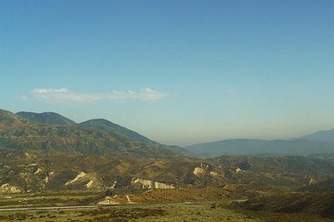 De Los Angeles au désert du Névada